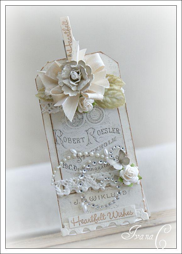 ¿Quien dijo que las invitaciones rústicas no pueden ser impresionantes? - Foto papergirlcrafts.blogspot.com