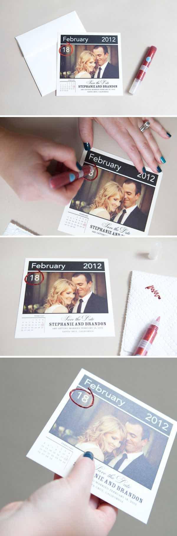 Como hacer un Save the Date creativo y fácil ¿Recuerdas las Polaroid?