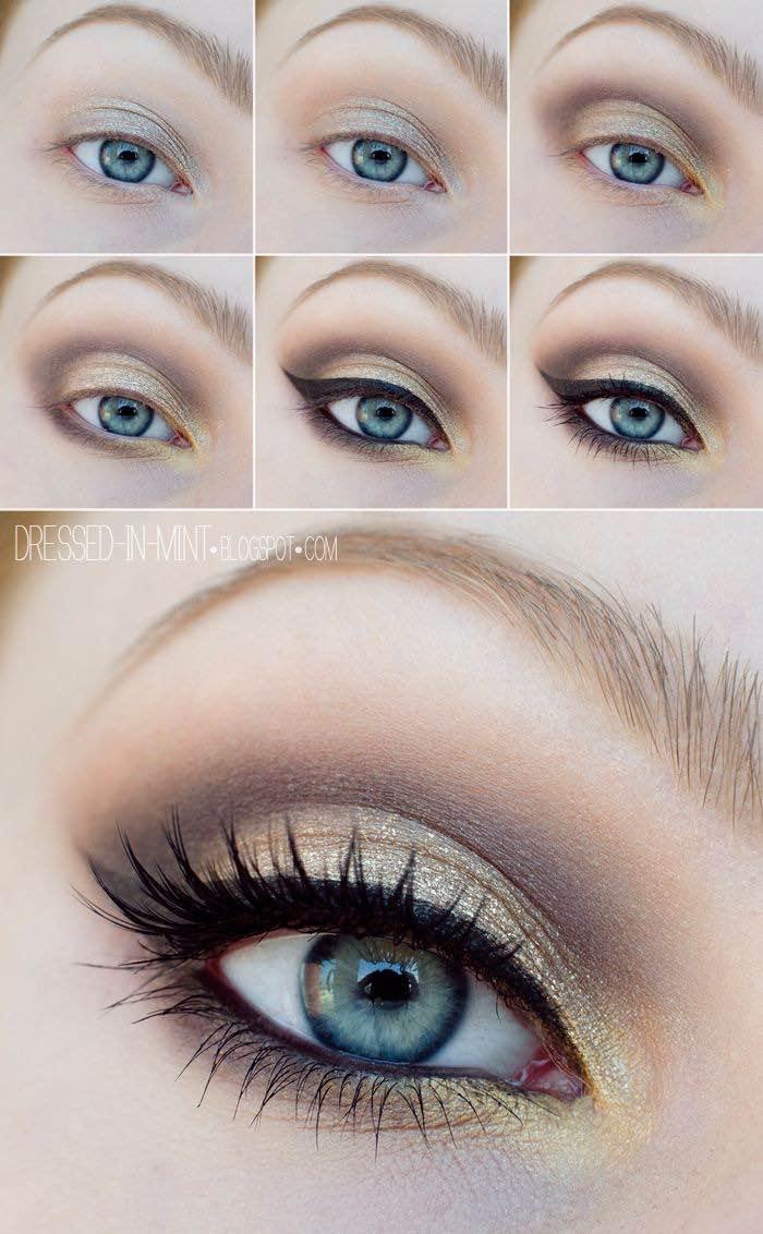 Como lograr que resalten tus ojos azules