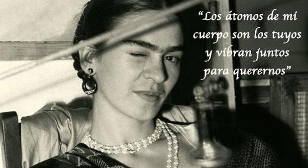 ¿Con quien compartirás estas frases de amor de Frida Kahlo?