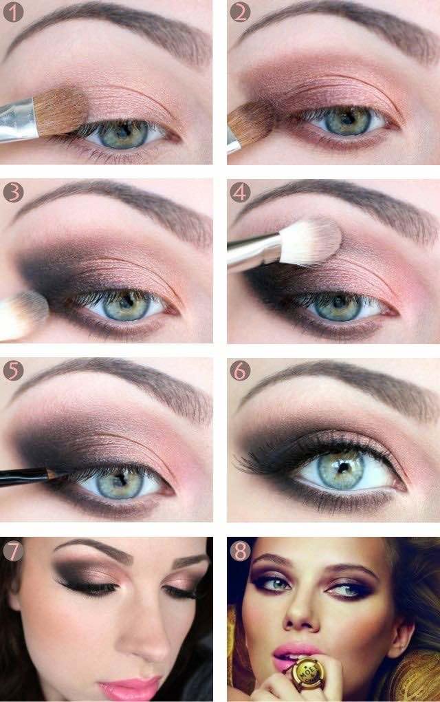 maquillaje para ojos verdes paso a paso para tu boda las sombras