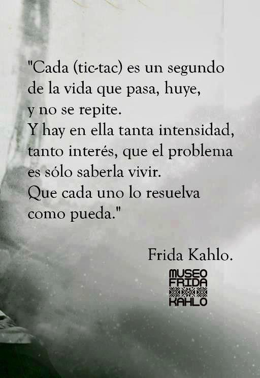 Los poemas de Frida Kahlo siempre nos dejan pensando ¿no?