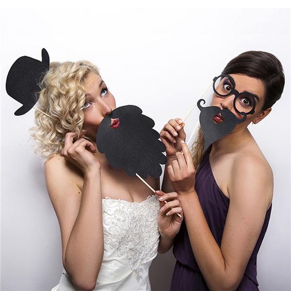 Atrezzos para photocall de boda en cartulina super divertidos!!