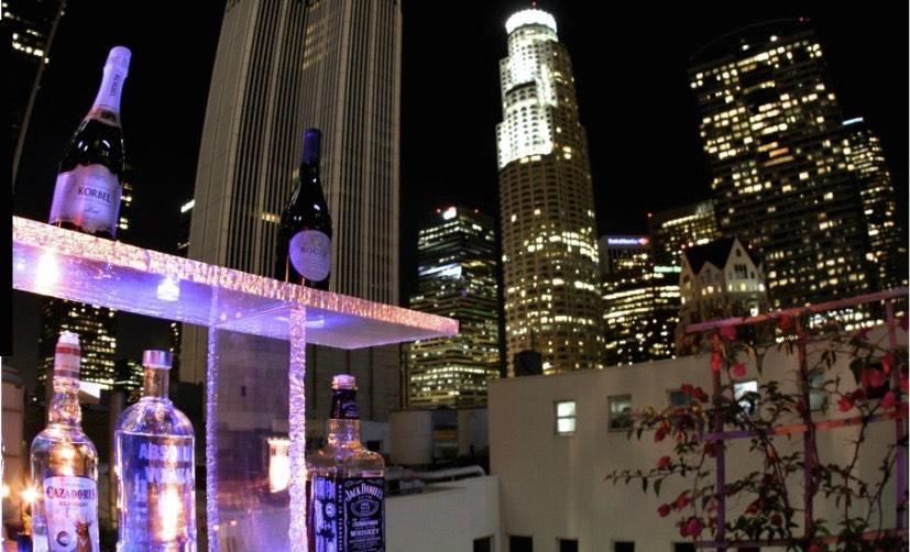 El entorno citadino del Oviatt Penthouse en Los Angeles