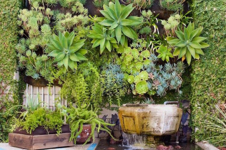 Fuentes para patio awesome fuente de agua en jardin with - Fuentes para patios ...