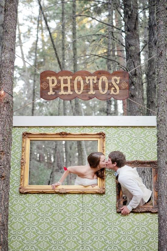 Ideas originales y divertidas para photocall de boda