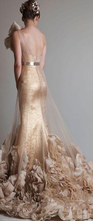 Krikor Jabotian Couture: vestidos de novia con espalda descubierta