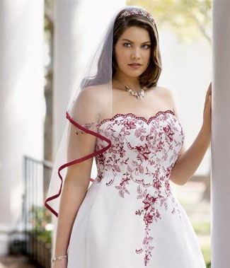 Los vestidos de novia para gorditas no tiene porque ser aburridos