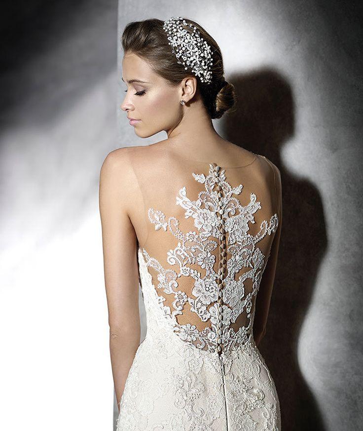 Printella, el arte de lo sutil en vestidos de novia estilo tattoo lace de Pronovias