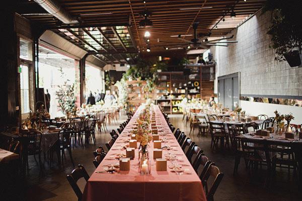 Una boda vintage en SmogShoppe - Los mas originales lugares para bodas en Los Angeles
