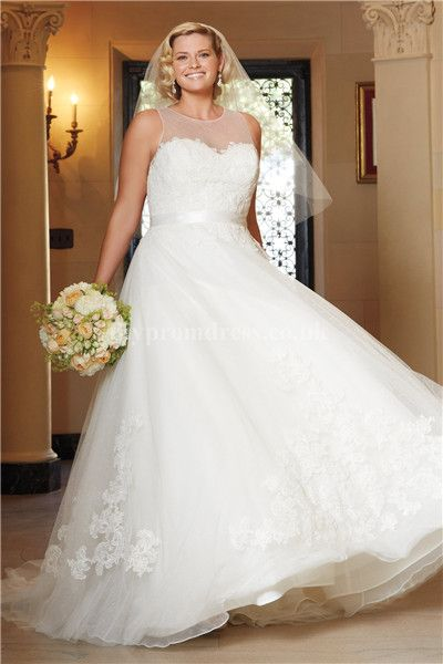 Vestidos de novia para gorditas en linea A