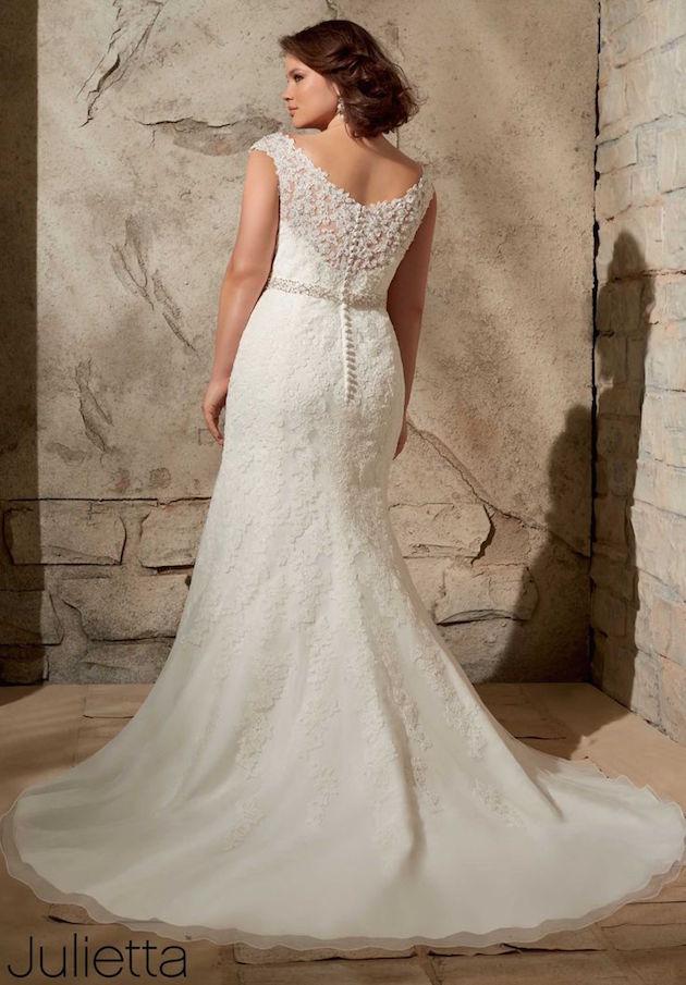 31 vestidos de novia para gorditas elegantes y actuales