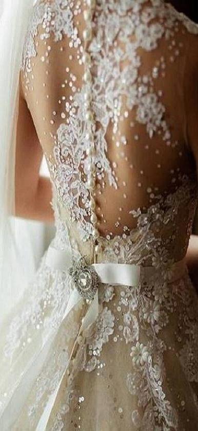 Vestidos de novia estilo tattoo lace. Hermoso romanticismo lleno de detalles.
