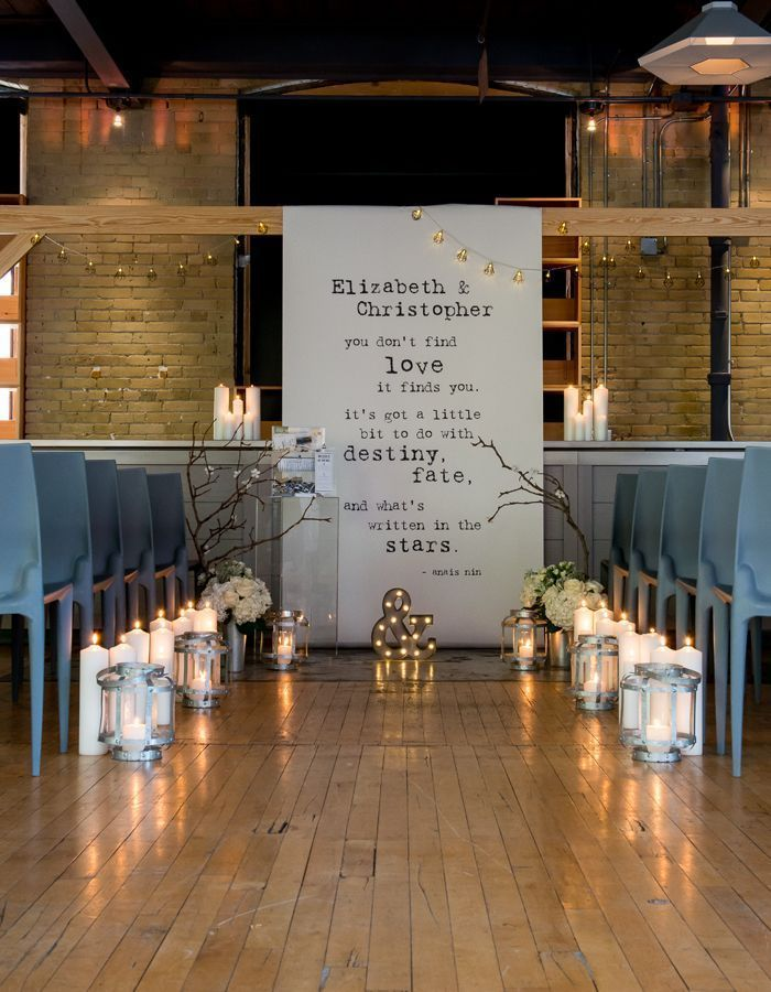 Boda Chic Industrial diseñada por Weddingstar.