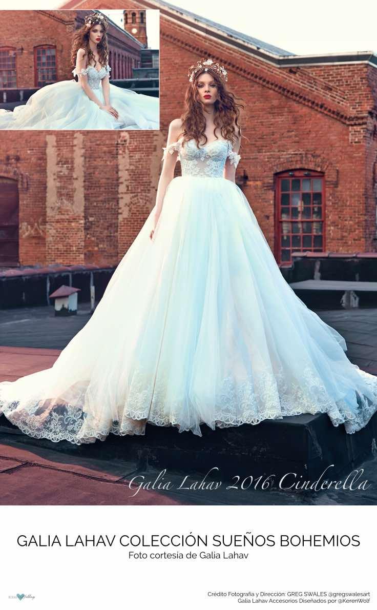 Cinderella, de Galia Lahav 2016. Un vestido que desborda magia.