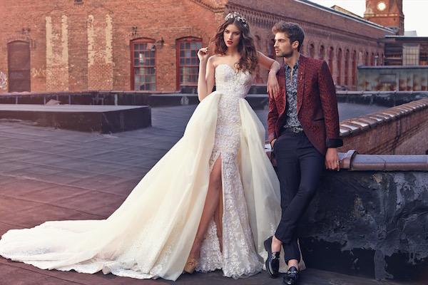 Crystal, un vestido de cuento de hadas. Galia Lahav 2016