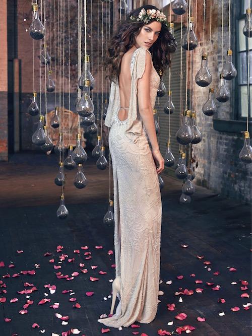 Gemma, los vestidos de novia mas sexy. Colección Galia Lahav Los Sueños Bohemios.
