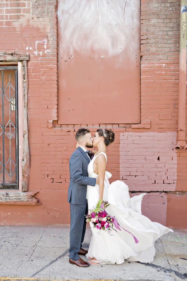 Ideas muy boho para bodas. Fotografía: Andie Freeman Photography via Ruffledblog.com