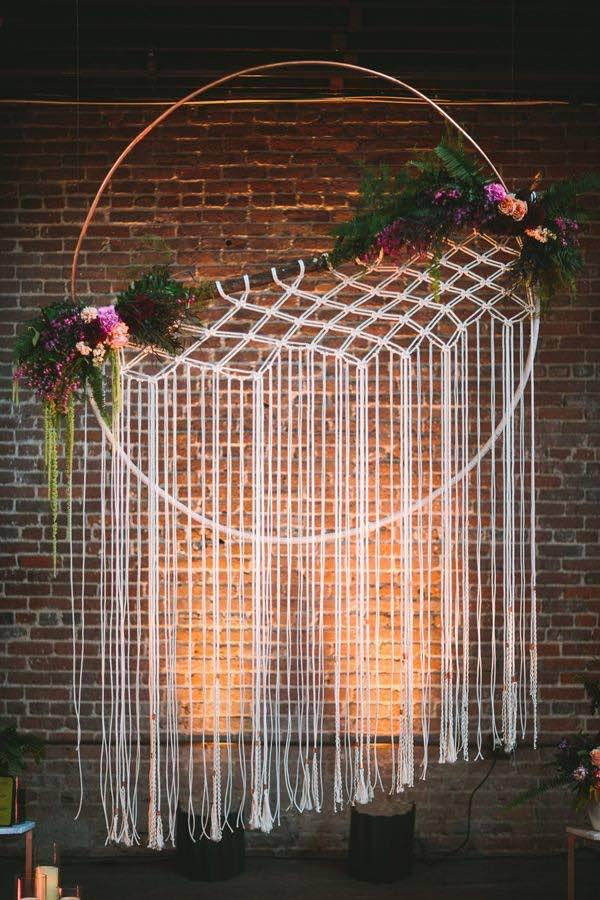 Inspiración boho para bodas. Fotografía: Lets Frolic Together