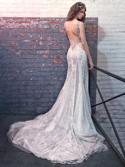 Jade, reveladora sensualidad. Vestidos de novia de Galia Lahav 2016