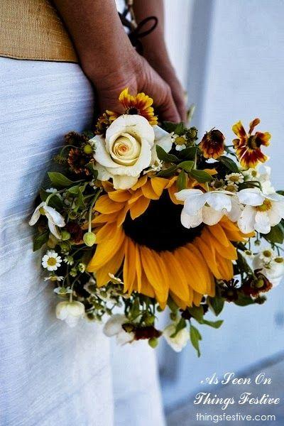 Cómo escoger el ramo de novia perfecto par una boda otoñal.