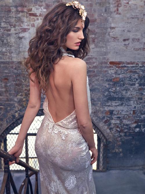 Savannah, vestido de novia bohemio de Galia Lahav