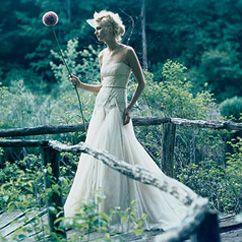 Vestido de novia boho.