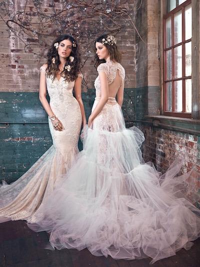 Disfruta de la colección de vestidos de novia de Galia Lahav. Modelos Blossom y Belle.