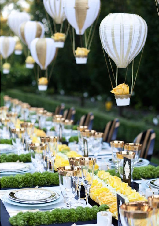 decoracin de bodas con globos y flores colgantes no te pierdas estas increbles ideas de