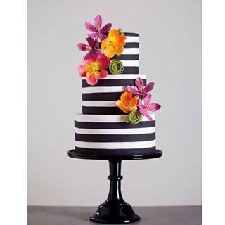 Tortas de boda espectaculares y modernas.