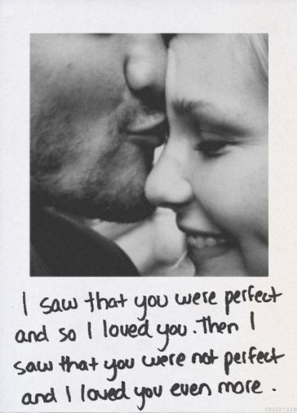 Las frases de amor mas románticas del mundo. Perfecta frase de amor para mi novio.