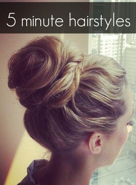 Cómo hacer un peinado recogido paso a paso.