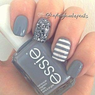 Diferentes estilos de nail art. Super cool!