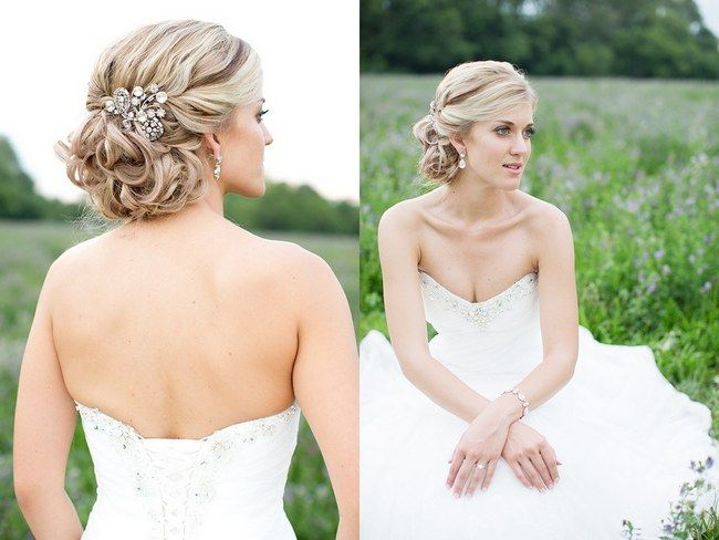 Estilos de peinados de novia recogidos para que luzcas tus diamantes.