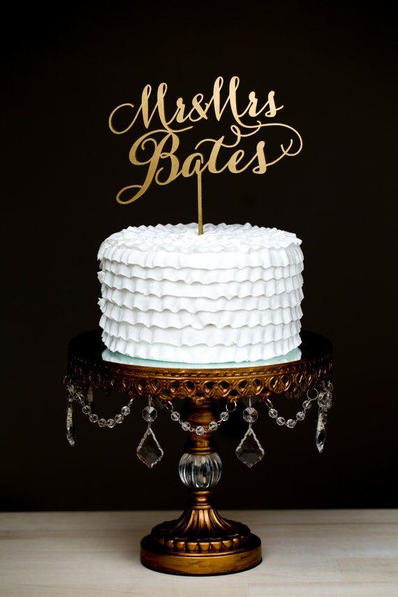 Fabuloso y original cake topper.