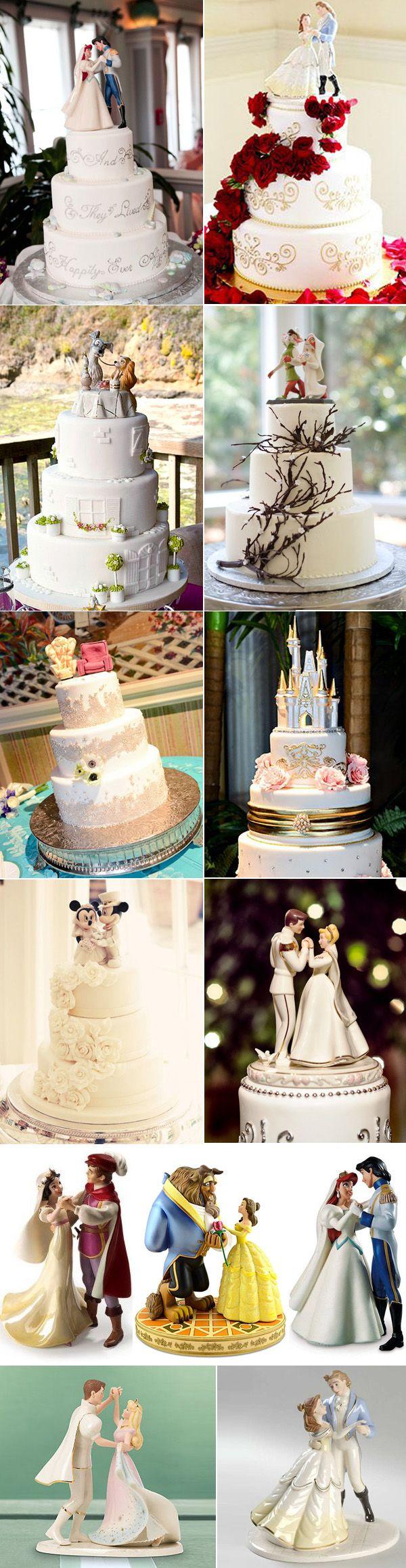 Muñecos de torta dignos de las princesas de Disney.