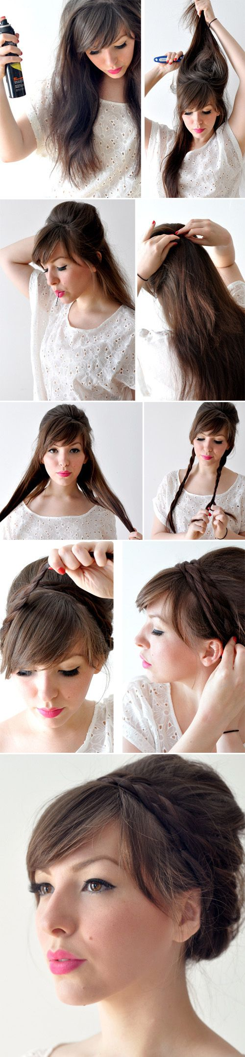 Peinados de novia recogidos Paso a Paso. No te pierdas este tutorial!