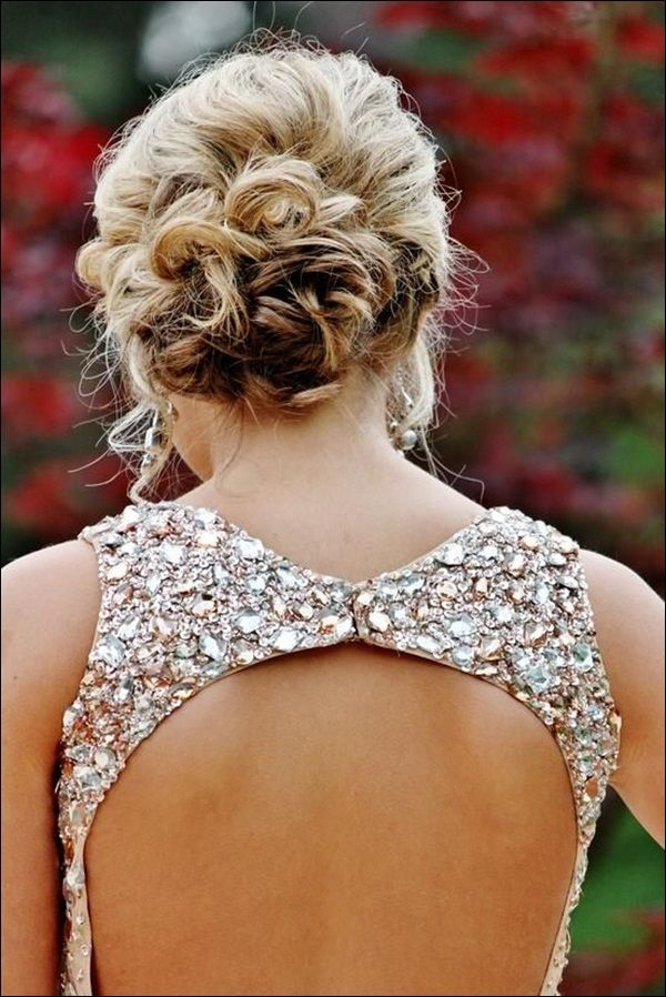 Peinados de novia recogidos para pelo largo o corto