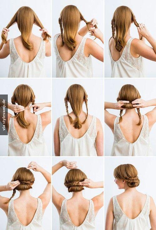 Peinados de novia recogidos paso a paso clásicos y con estilo.