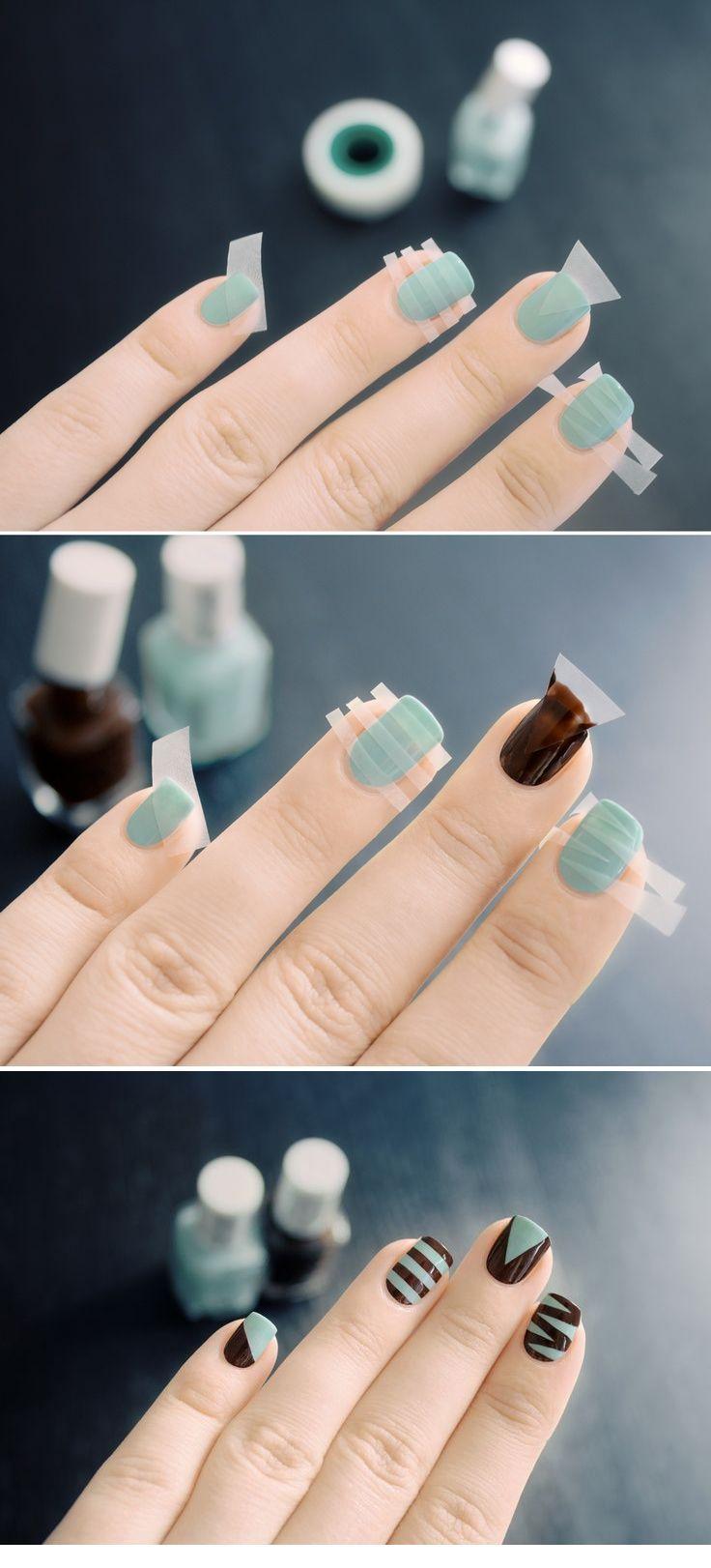 ¿Te animas a hacer esta idea de arte para uñas?