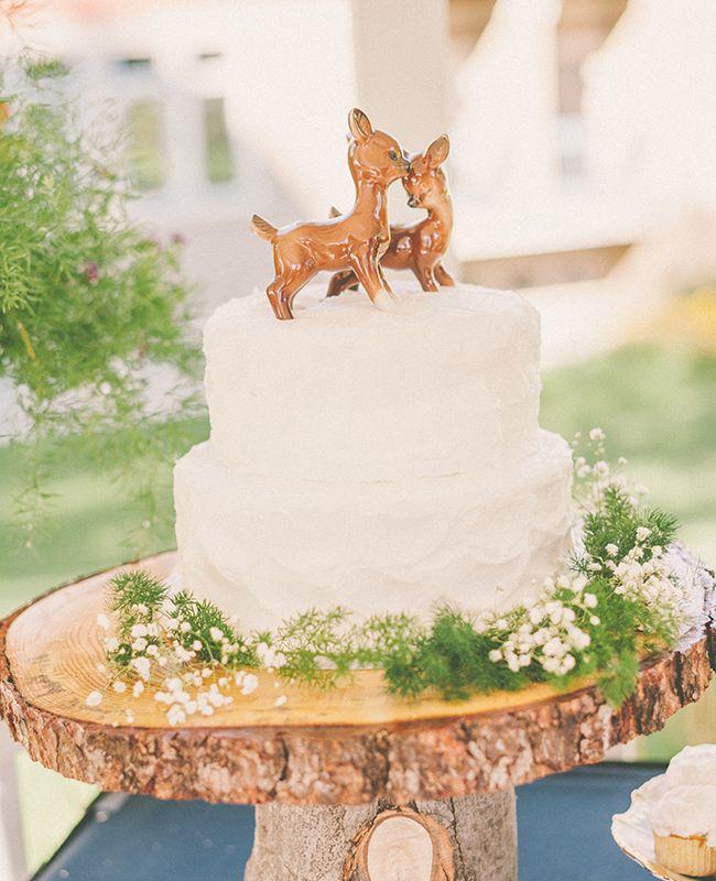 Alissa Saylor Photography nos trae cake toppers con una pareja de ciervos