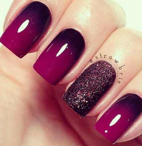 ideas de arte para uñas con degradé y accent nails. ¿Necesitas inspiración para la decoración de tus uñas? No te pierdas este articulo.