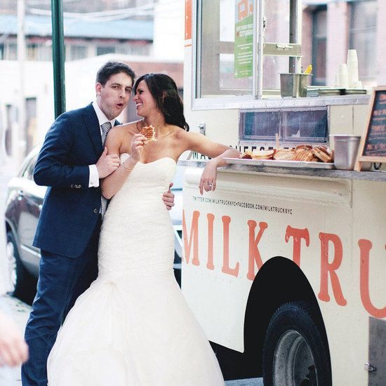 Wedding Food trucks and save on your food budget. Como ahorrar en grande en tu boda.