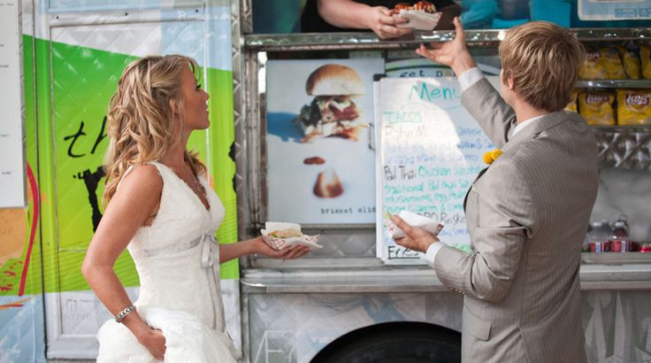 Food Trucks para Bodas en Austin: The Peached Tortilla.