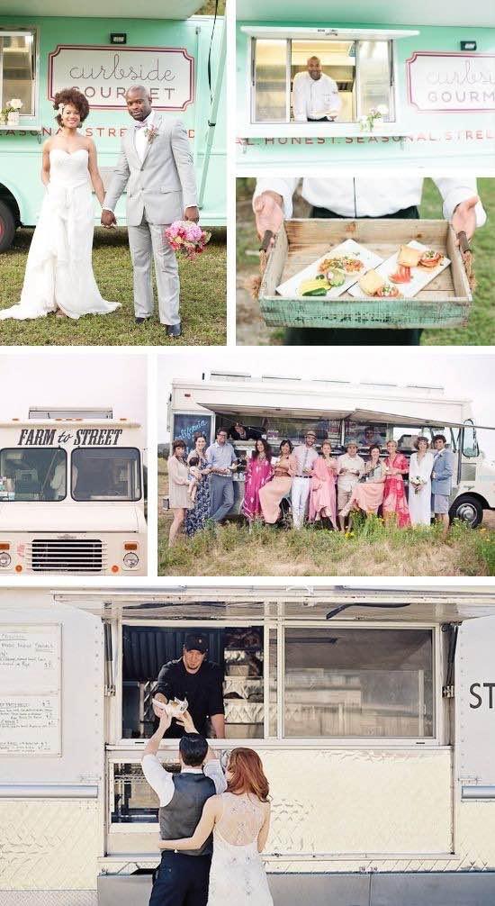 Food Trucks para bodas siguen siendo tendencia en el 2016.
