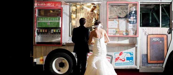 Food truck weddings en Virginia.