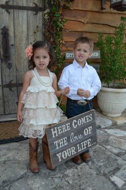 Los detalles de las bodas country se encuentran en todos lados pero eso si, sin botas, no.