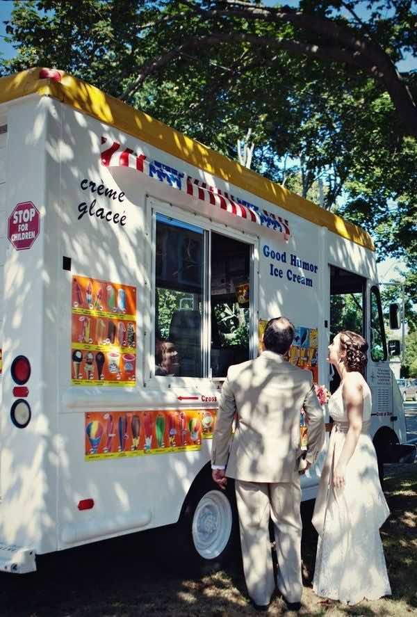 Refrescante y deliciosa idea para una boda en el verano.