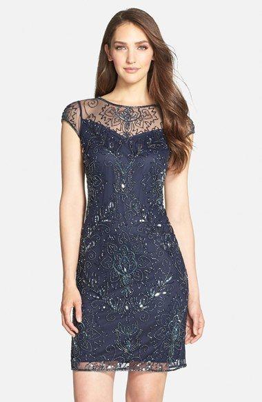 Un precioso vestido para las fiestas de fin de año.