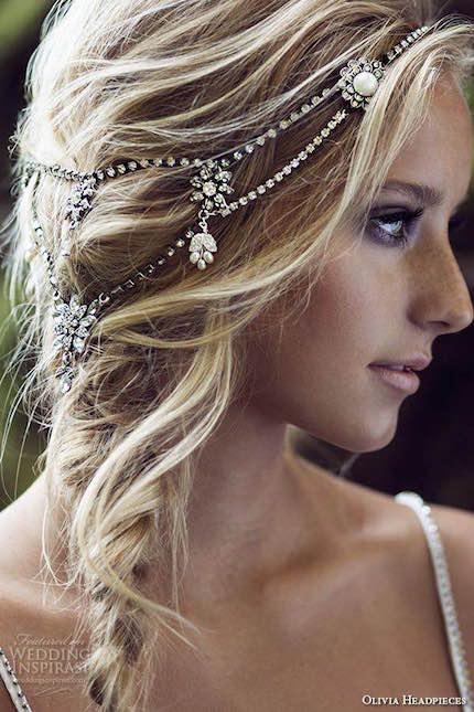 Accesorios para Peinados Boho: la nueva colección de Olivia con cristales de Swarovski, súper bohemias.